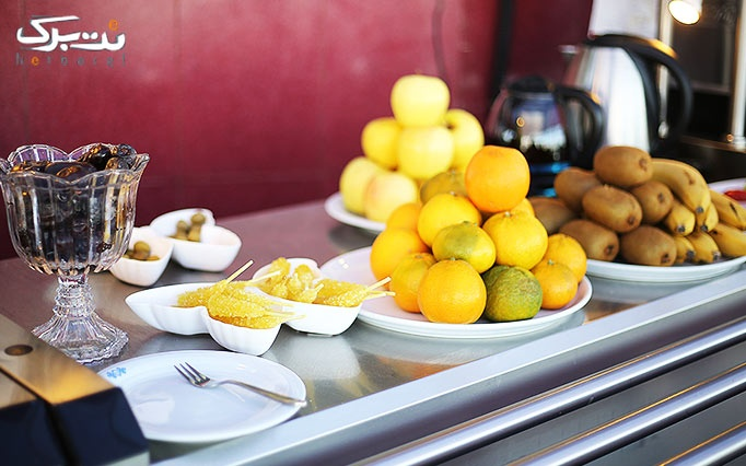 رستوران هتل برج سفید با بوفه صبحانه
