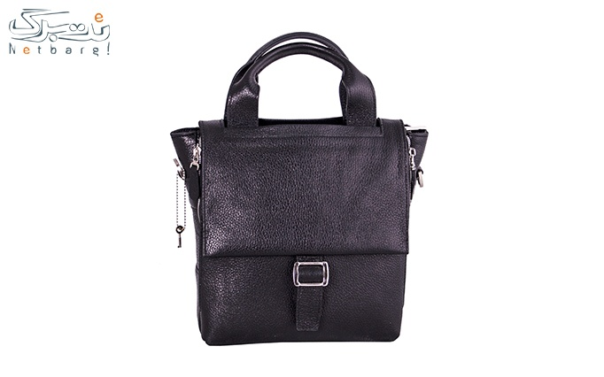 کیف دوشی چرم طبیعی آرشین کد DG41