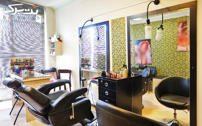 دستمزد نصب اکستنشن مو در آرایشگاه مروارید