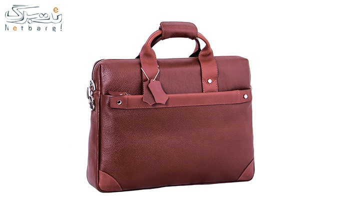 کیف اداری چرم طبیعی کارن کد DL45