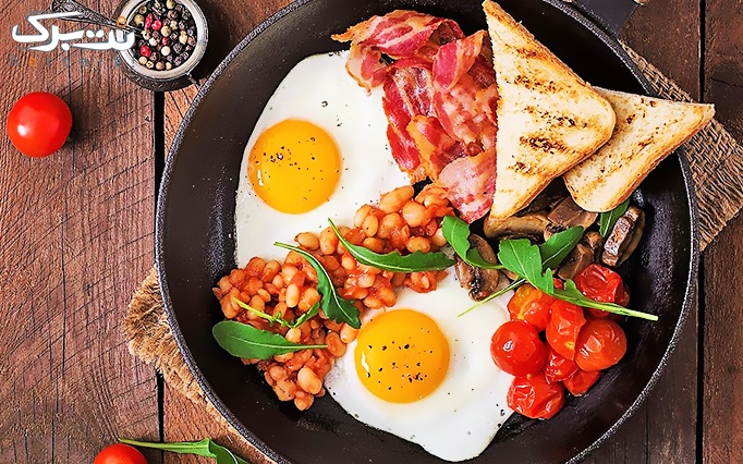 فست فود قلعه با منو باز صبحانه