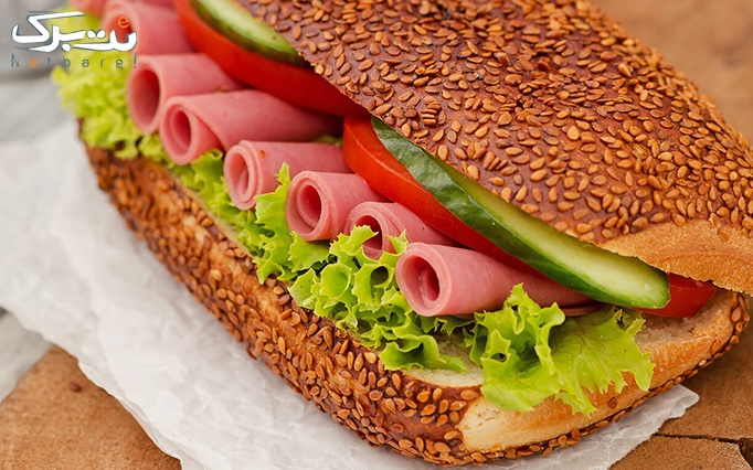 فست فود ملچ ملوچ با منو انواع ساندویچ
