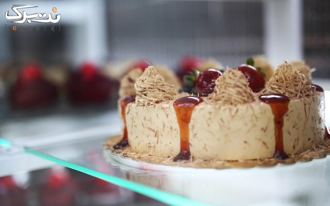 قنادی راش کیک با انواع شیرینی و کیک های تازه