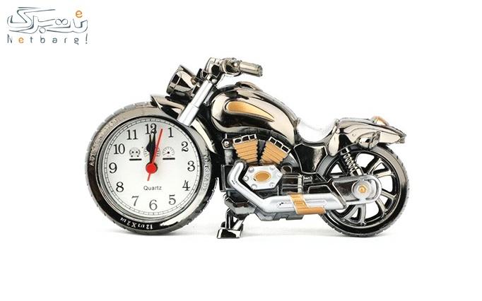 ساعت دکوری طرح موتور