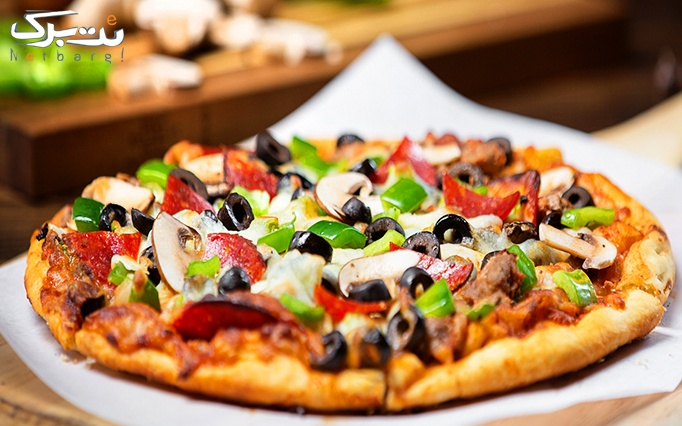 پیتزا انزو با منو باز پیتزا و ساندویچ