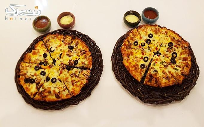 فست فود امیرویچ با منو متنوع از پیتزا، ساندویچ