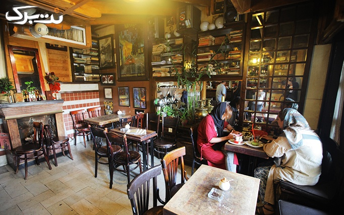 کافه دِفرانس (De France) با منو باز غذایی
