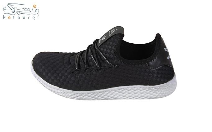 کفش ورزشی زنانه مشکی طرح آدیداس