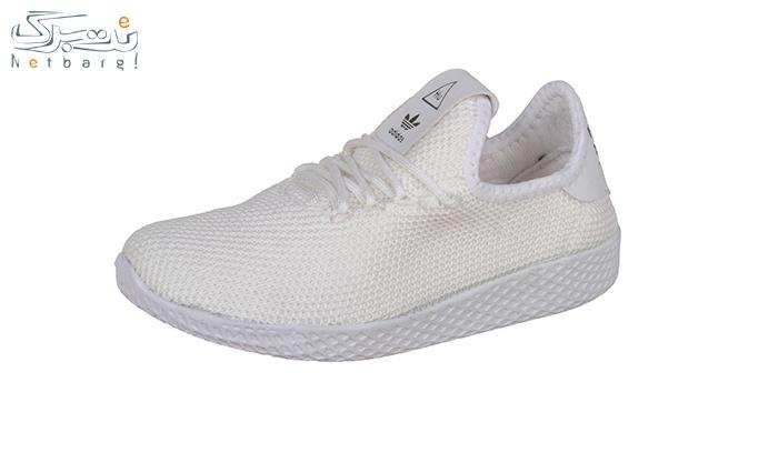 کفش ورزشی زنانه  رنگ سفید (ارس)