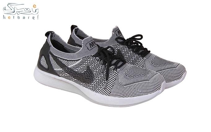 کفش ورزشی مردانه سفید طرح نایک