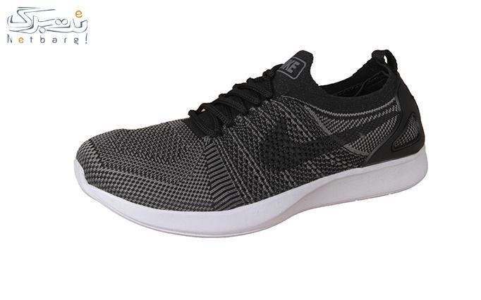 کفش ورزشی مردانه طوسی طرح نایک
