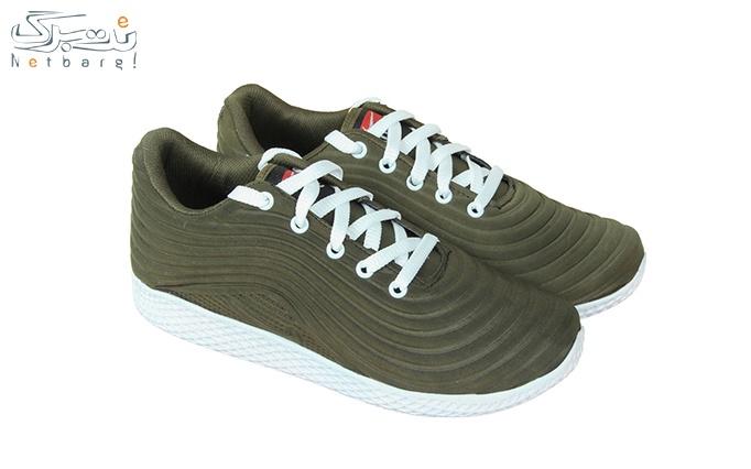 کفش ورزشی زنانه سبز یشمی طرح نایک