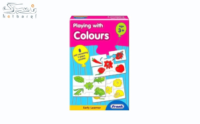 بازی آموزشی بازی با رنگ ها فرانک کد 10313