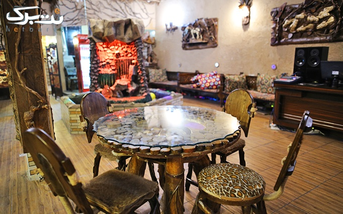 سفره خانه سنتی السای با میان وعده، دیزی و چای سنتی
