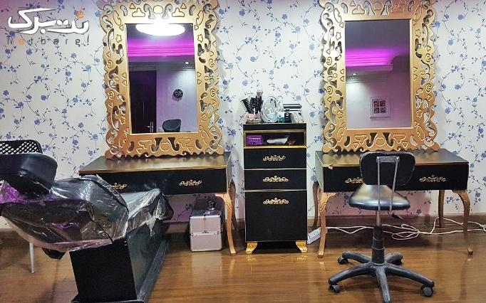 اکستنشن مو در سالن زیبایی آگرین