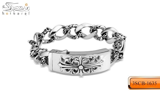 انواع دستبند مردانه تمام استیل سری 5