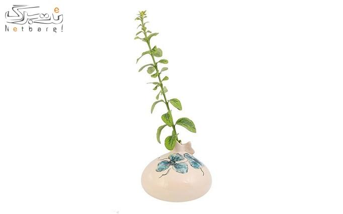 گلدان سرامیکی کبک گالری فرتاش کد 171002