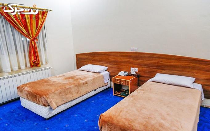 اقامتی بی نظیر+صبحانه در شعبه ماهان هتل ایرانگردی