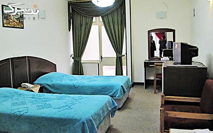 اقامت + صبحانه در اتاق 2 تخته هتل فسا
