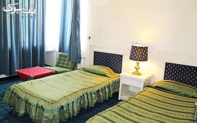 اتاق 2 تخته در هتل جهانگردی فیروزآباد