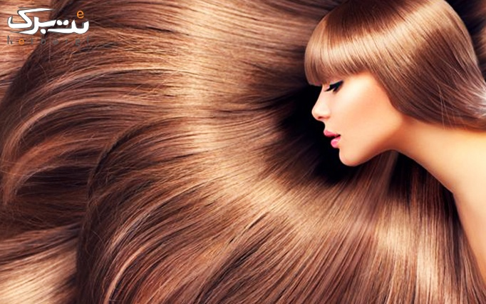 کراتینه گرم مو در سالن غنچه سرخ