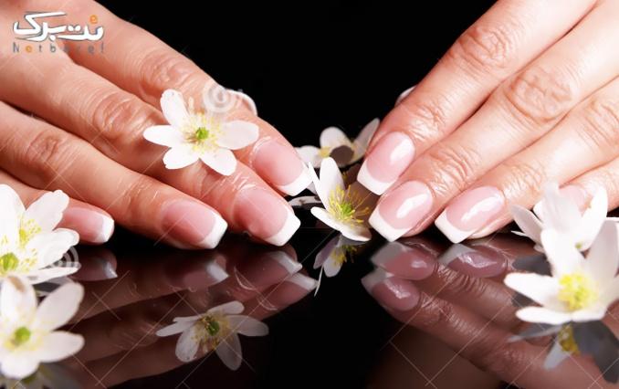 کاشت ناخن پا و ترمیم ناخن دست در آرایشگاه روناس