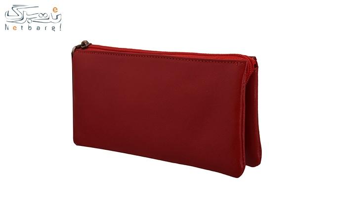 کیف پول چرم طبیعی کد 122202