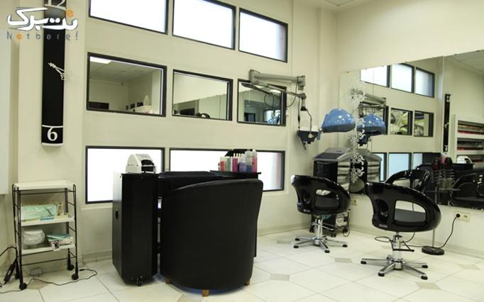 طراحی و ترمیم ناخن در آرایشگاه رنگ
