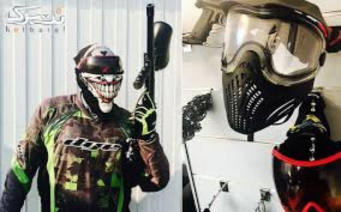 لیزرتگ و ایرهاکی در مجموعه پینت بال سرپوشیده رنجر