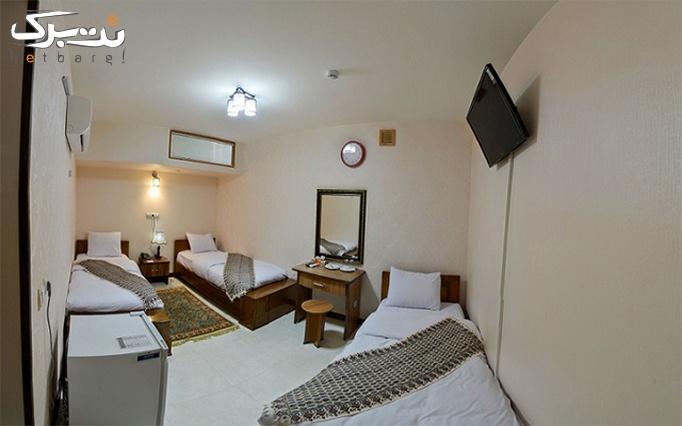 اقامت هر اتاق+صبحانه در هتل 1 ستاره فیروزه اصفهان
