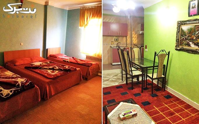 اقامت+صبحانه در هتل سه ستاره کبیر سرعین