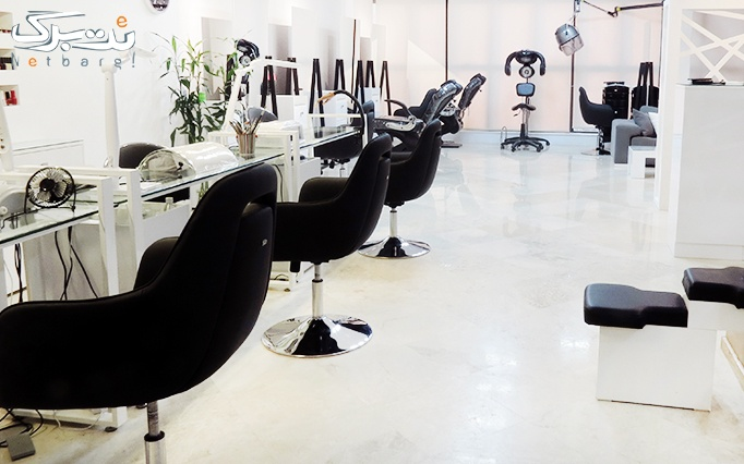 اکستنشن مو در سالن زیبایی بانو حشمتی