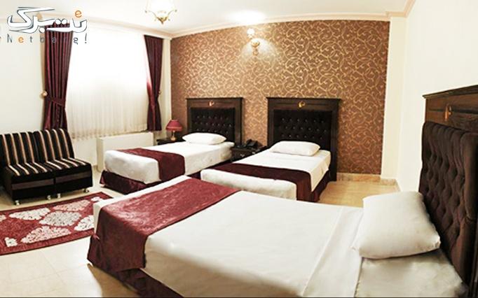 اقامت + صبحانه بوفه در هتل 2 ستاره کوثر مشهد