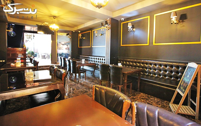 رستوران ایوان میرداماد با منو باز کافه