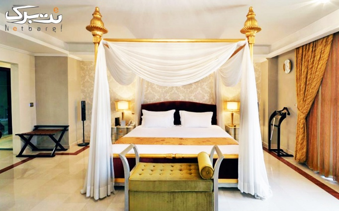 ویژه عاشقانه پرتخفیف: اقامت+صبحانه در هتل اسپیناس