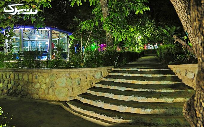 مجتمع تفریحی نگارستان با غذاهای متنوع و بوفه سالاد