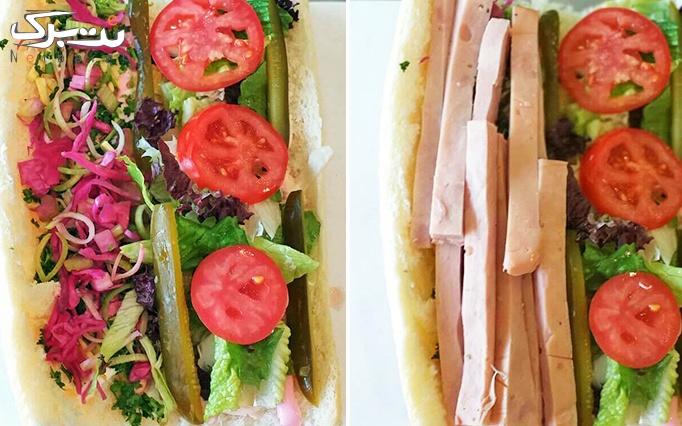 ساندویچ های سرد در ساندویچ ویندو