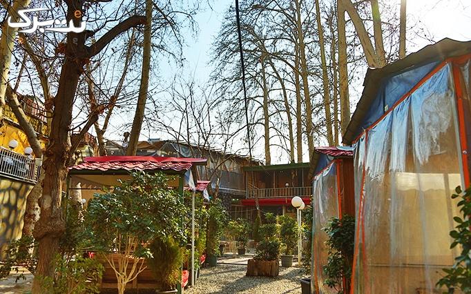 باغچه عبدالرزاق با منو کافی شاپ و سرویس چای سنتی