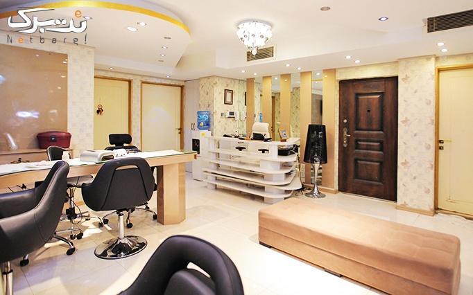 میکروبلیدینگ ابرو در آرایشگاه قصر آنیل