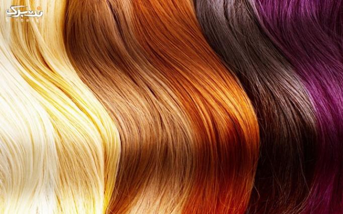 رنگ مو و مش فویلی در سالن زیبایی آتوسا