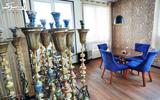 روف گاردن دیوان با سرویس چای سنتی عربی دو نفره