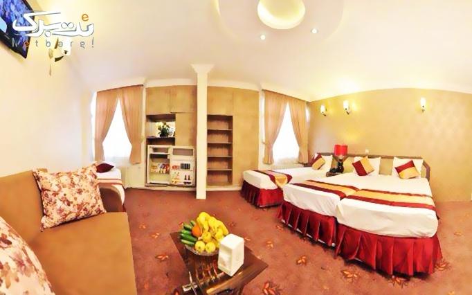 اقامت + صبحانه بوفه در هتل 2 ستاره خورشید مشهد