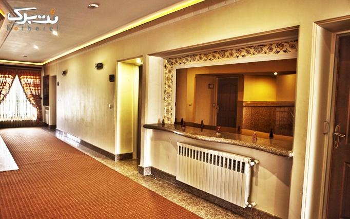 اتاق های 2 تخته رو به جنگل هتل پدیدار خزر