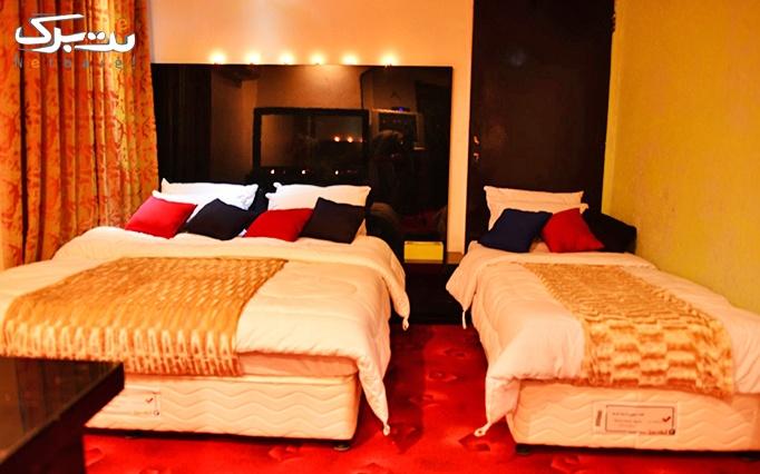 پکیج 4: اقامت در اتاق چهار تخته