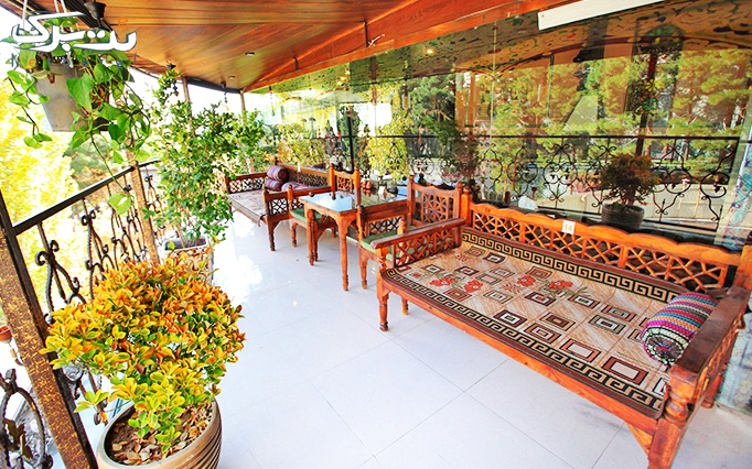 سفره خانه سرو ساعی با سرویس چای سنتی