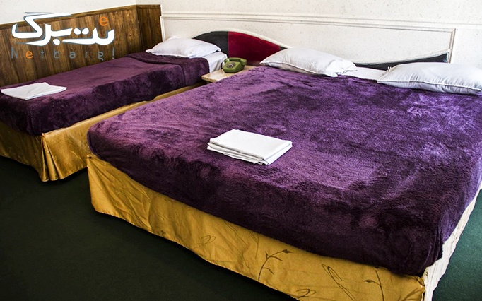 اقامت فولبرد در هتل 2 ستاره تاپ رازی