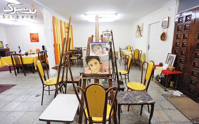 آموزش کاشی کاری در موسسه هنری کاشانی زاده