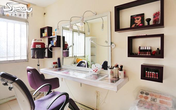 کوتاهی مو و اصلاح ابرو در آرایشگاه تیام