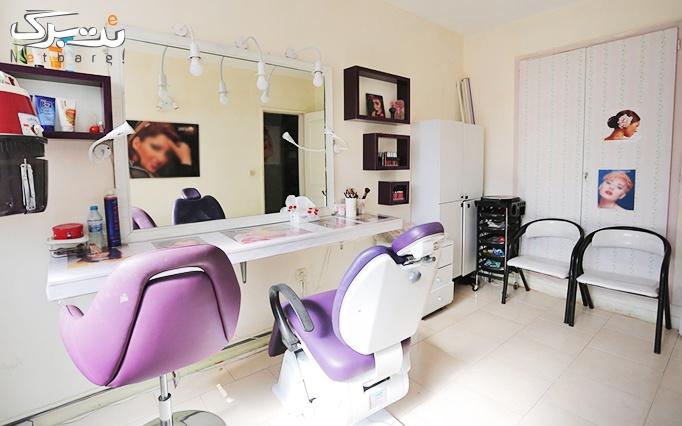 اکستنشن مو حرفه ای در آرایشگاه تیام