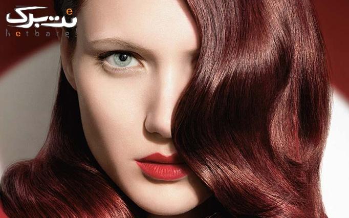 ویتامینه موی سر بانوان در آرایشگاه زیبایی سرخ